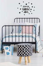 Dream Big Wall Sticker - Black