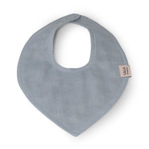 Teething Bib - Kalli - Quiet Blue