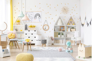Sticks Wall Stickers - Gold