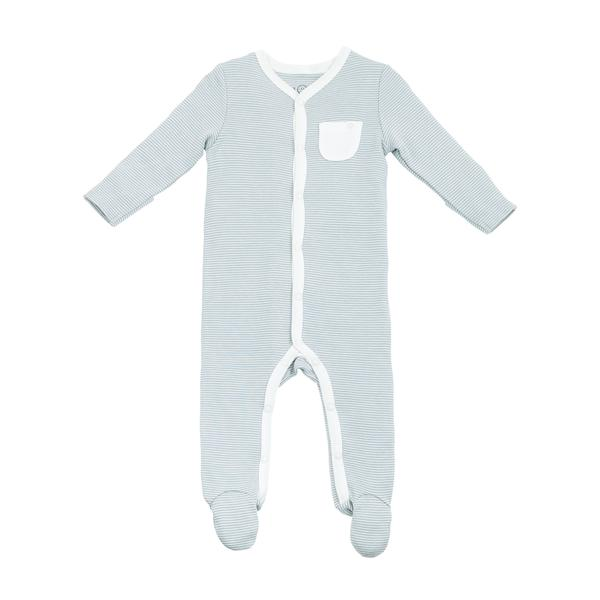 Mori baby Front-Opening Sleepsuit