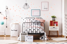 Irregular Dots Wall Stickers - Pink