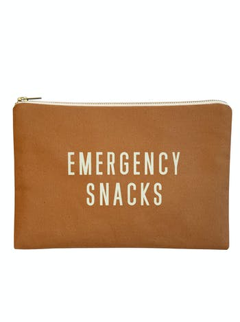 Emergency Snacks - Tan Pouch