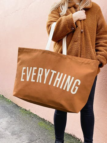 Everything - Tan REALLY Big Bag