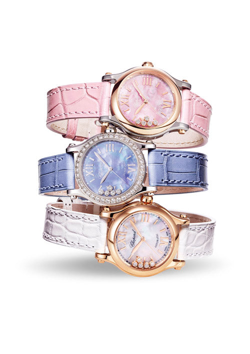 Chopard celebrates the 25th anniversary of the BST watch Happy Sport