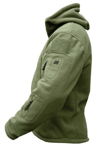 Military Fleece Jacket Warm -TUNGBOBO