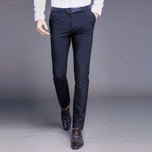 Men Pants Straight Spring and Summer - TungBOBO