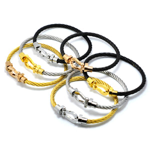 Bracelets bangles Magnet Buckle Cable - TungBOBO