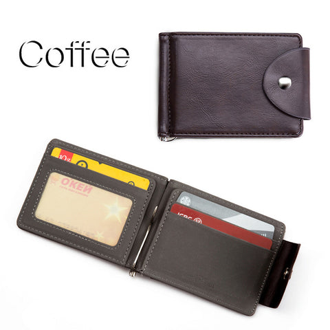 Men PU Leather Wallet #7 - TungBOBO