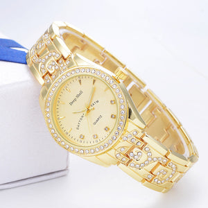 Diamond Gold Watch - TungBOBO
