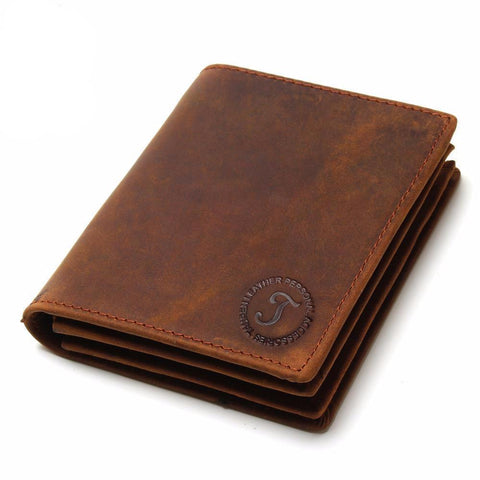 Handmade Leather Men Wallets #9 - TungBOBO