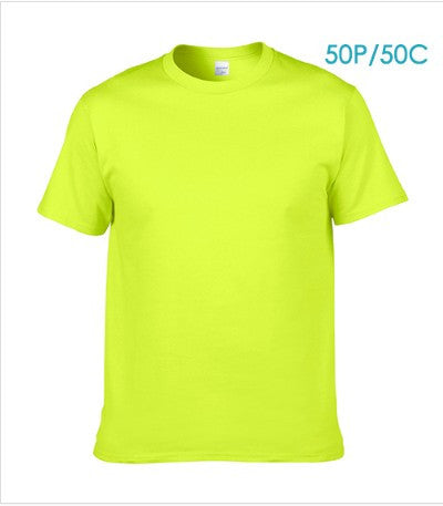 Men's round neck short-sleeved summer fashion cool shirt#4 - TungBOBO