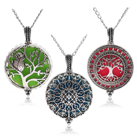 Pendant Perfume Essential Oil  Necklace - TungBOBO