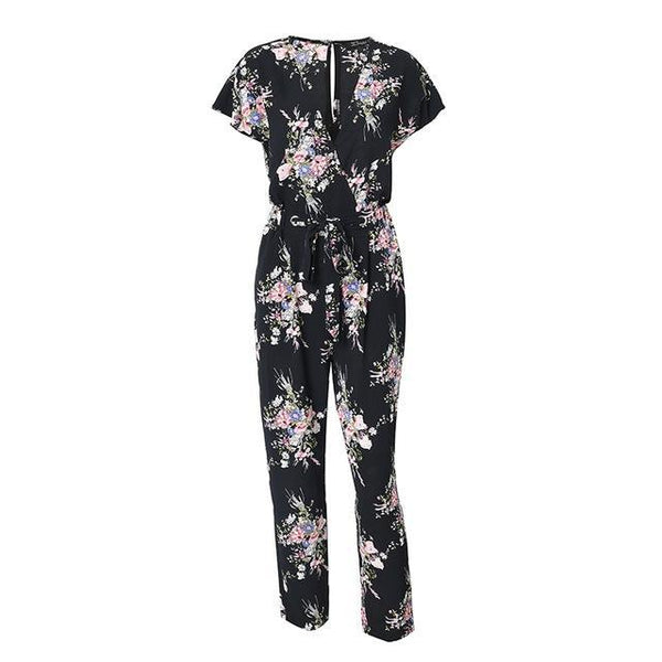 Jumpsuit  summer women casual - TungBOBO