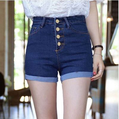 Shorts Fashion Feminino Denim - TungBOBO