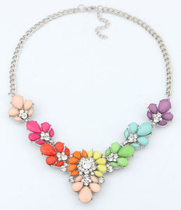 Necklace 3 Colors Crystal - TungBOBO