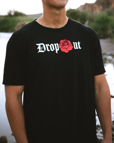 Rose Dropout Tee (Red)