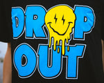 Dropout Smiley Face Tee