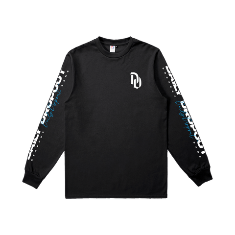 Dropout Black Long Sleeve
