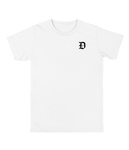"""Never Graduate"" Dropout Gang White Tee"