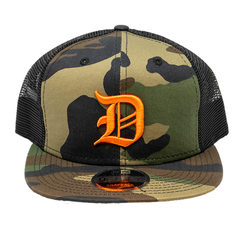 Dropout X New Era Camo Snapback