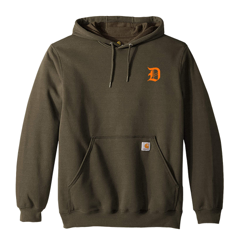 Forest Green Carhartt X Dropout Hoodie