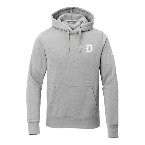 Dropout Gang X Northface Grey Collab Hoodie