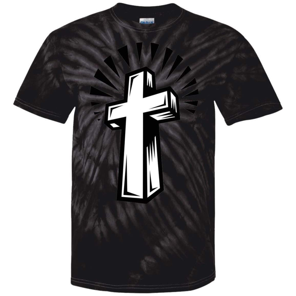 Cross Burst - Tie Dye