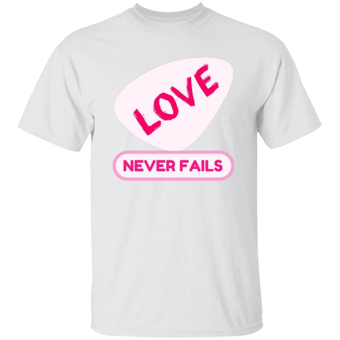 Love Never Fails - Unisex