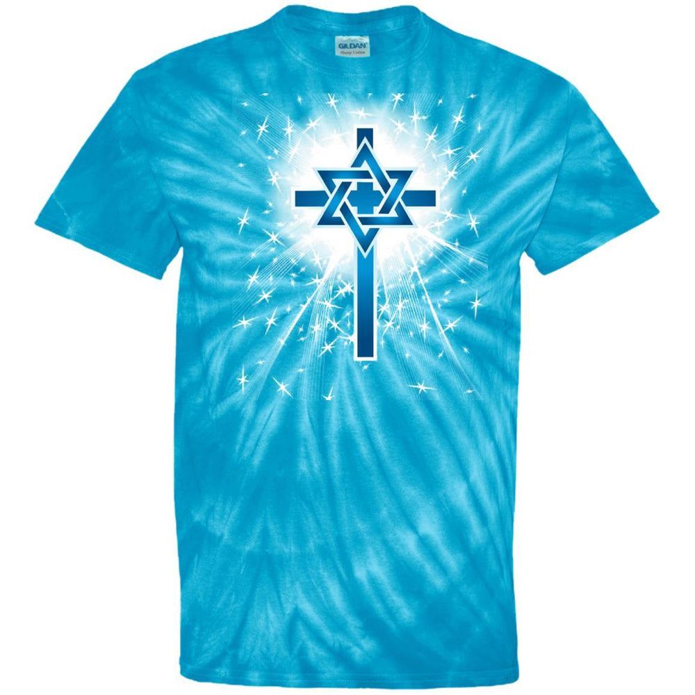 Cross Star - Tie Dye
