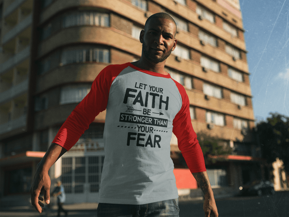 Faith over Fear - Baseball