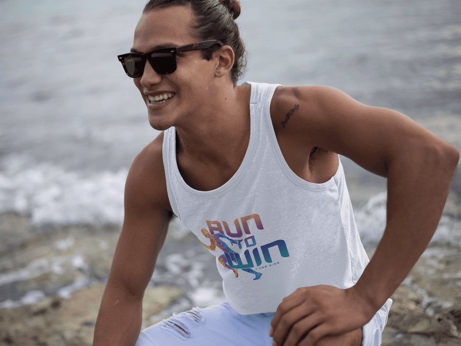 Run To Win Guy - Unisex Tank