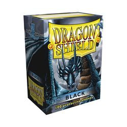 Dragon Shield Sleeves: Black (Box Of 100)