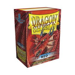 Dragon Shield Sleeves: Red (Box Of 100)