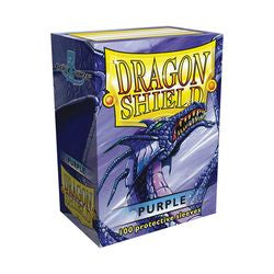 Dragon Shield Sleeves: Purple (Box Of 100)