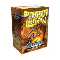 Dragon Shield Sleeves: Orange (Box Of 100)