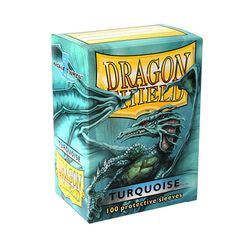 Dragon Shield Sleeves: Turquoise (Box Of 100)