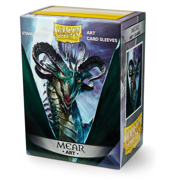 DRAGON SHIELD SLEEVES: ART CLASSIC MEAR 100C (BOX OF 100) - LIMITED EDITION