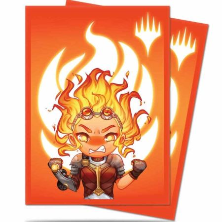 ULTRA PRO: MAGIC THE GATHERING DECK PROTECTOR - CHIBI COLLECTION - CHANDRA - MAXIMUM POWER 100CT