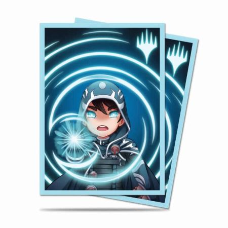 ULTRA PRO: MAGIC THE GATHERING DECK PROTECTOR - CHIBI COLLECTION - JACE - MYSTIC 100CT