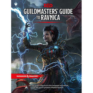 DUNGEONS AND DRAGONS 5E: GUILDMASTER'S GUIDE TO RAVNICA