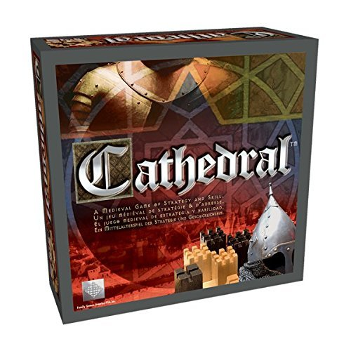 Board Game Library - Cathedral Wood Strategy Tabletop Board Game Classic