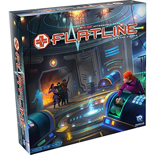 Board Game Library - Flatline, Fuse Expansion