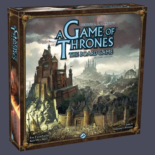 Board Game Library - A Game of Thrones Board Game: 2nd Edition /W Mother of Dragons Expansion