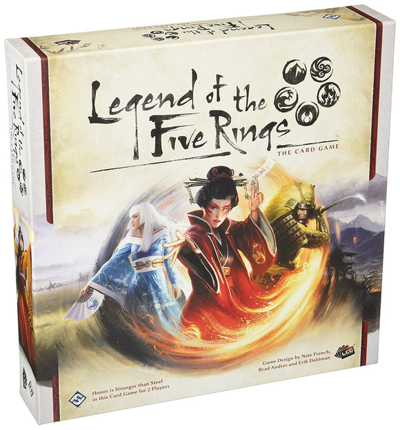 Board Game Library - Legend of the Five Rings: The Card Game