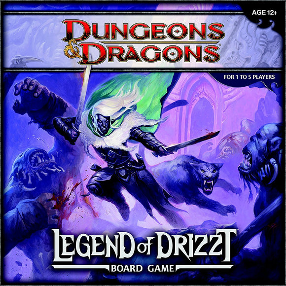 Dungeons And Dragons: Legend Of Drizzt Boardgame