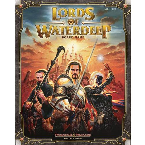 Dungeons and Dragons: Lords of Waterdeep Boardgame