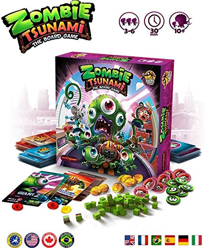 Board Game Library - Zombie Tsunami