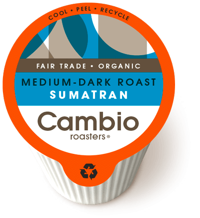Sumatran (Medium-Dark Roast) Coffee Pods
