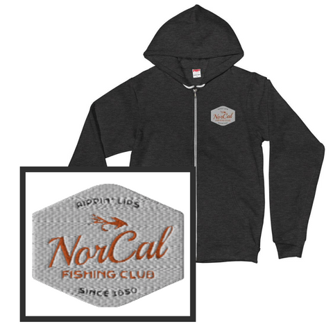 NorCal Fishing Club Zip Hoodie