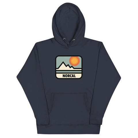 NorCal Hipster Hoodie